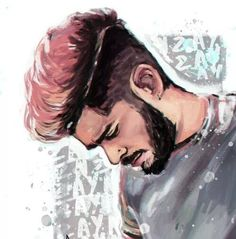 Zayn Malik in watercolor magic! Grey Hair, Pink Hair, Ex One Direction, Zayn Mailk, Band Pictures, Best Fan, Raining Men, 1d And 5sos, Best Couple