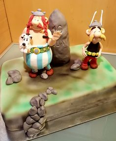 Asterix Torte Connect, Viking Dragon, Pastry And Bakery, Vikings, Dragons, Cake Decorating, Desserts, The Vikings, Tailgate Desserts