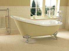 Ritz Single Ended Slipper Bath Victorian Bathtubs, Imperial Bathrooms, Unclog Bathtub Drain, Cast Iron Bath, Bath Uk, Bath Paint, Relaxing Bath, Large Bathrooms, Attic Rooms