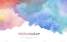 Abstract acrylic and watercolor brush strokes painted background. Paint Background, Watercolor Background, Watercolor Brushes, Abstract Watercolor, Brush Strokes Painting, Paper Texture, Paint Colors, Mandala, Wallpaper
