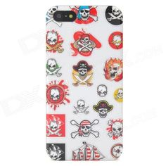 Quantity: 1 Piece; Color: White + Red + Yellow; Material: Plastic; Type: Back Cases; Compatible Models: Iphone 5; Other Features: Protects your Iphone from scratches dust and shock; Packing List: 1 x Protective case; http://j.mp/1ljN3PK