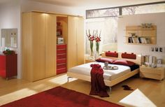 creative ideas and university red carpet and modern bed