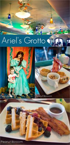 Ariel's Grotto: a great review of their breakfast offering. Heading to Disneyland and want a character dining experience? Check out all the details here.