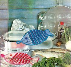 Kuukauden retro-ohje on Suuri Käsityökerho -lehdestä vuodelta 1987. Iloinen polskija sopii sekä kalastajan että kalaruokien ystävän keittiöön.