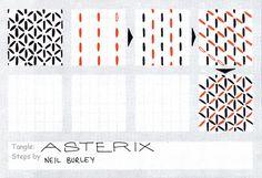 Asterix - tangle pattern
