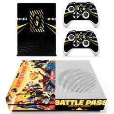 Fortnite Xbox one S Skin   Xbox one S skin – Console skins world Console Styling, Xbox One S, Games To Play, Personal Style, Console Table Styling