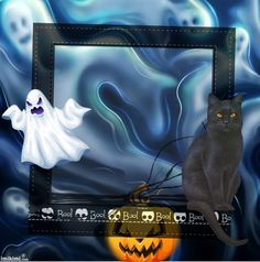 Ghostly Halloween Haunted Pictures, Halloween Frames, Picture Frames, Tote Bag, Bags, Portrait Frames, Handbags, Halloween Picture Frames, Picture Frame