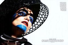 Vogue France by Mario Sorrenti - Make up by Karim Rahman