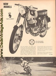 1965 Ossa 175 SE Photos/ Specifications / Article