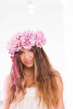 Maxi corona de flores de Imma Clé