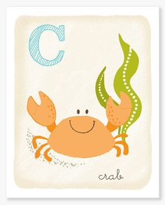C is for Crab!  I'm a Cancer