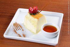 Espaço Gastronômico Ticiano_ Quality Hotel (almoço)  Pudim de leite  Pudim de leite condensado e leite coberto com calda de caramelo