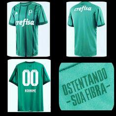 Camisa Sociedade Esportiva Palmeiras 2017. Camisa com listras verticais  como em 1993 37e6a1c358220