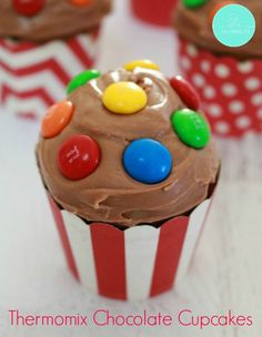 Thermomix Chocolate Cupcakes