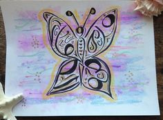 Arabic calligraphy original hand-drawn by TheEnchantedGeode