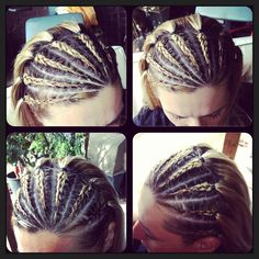 Half head cornrows: want to get this done to my hair