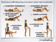 Knee exercises: Illustrated therapeutic strengthening exercises - Fitness For You