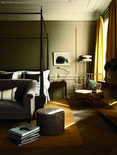 Ilse Crawford, hotell i Stockholm. Master bedroom, master bed, bedroom decor, bedroom ideas, bedrooms, For more news: http://www.bocadolobo.com/en/news-and-events/