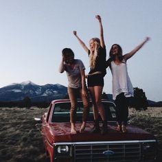 Dru, Emma and Livvy