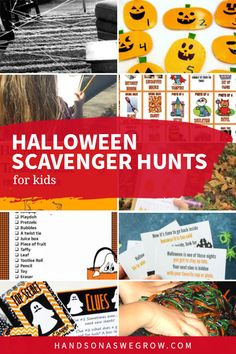 Toddlers and preschoolers will love these simple and quick Halloween activities. 10 spooky-fun scavenger hunts with pumpkins, spiders, monsters, ghosts and decorations. Halloween Scavenger Hunt, Scavenger Hunt For Kids, Halloween Activities, Motor Activities, Hands On Activities, Toddler Preschool, Toddler Activities, Painters Tape, Play Doh
