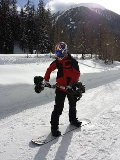 [Video] Watch Snowboarder Jamie Barrow Gliding With Handheld Thruster -  [Click on Image Or Source on Top to See Full News]