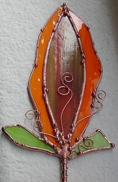 Waiting to Open - by Dianne McGhee from Glass Art Cold Art Gallery