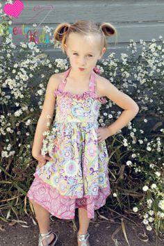 Katy's Double Layer Ruffled Bodice Dress Pattern