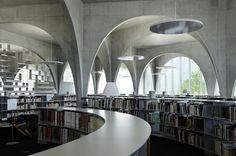 Tama Art University Library, Tokyo Japan