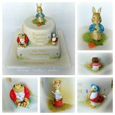 The most beautiful Beatrix Potter cake