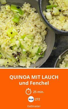 Quinoa mit Lauch - und Fenchel - smarter - Kalorien: 272 Kcal - Zeit: 25 Min. | eatsmarter.de