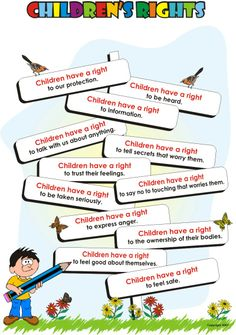 Child Friendly poster of Children's Rights. Can use as visual in classroom practice, display in the classroom and/or share with colleagues Educational Activities, Preschool Activities, Children's Rights And Responsibilities, Rights Respecting Schools, Class Charter, Protective Behaviours, British Values, Human Rights, Child Rights