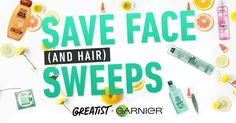 Enter this sweepstakes for a chance to get your skin and hair winter ready with must-haves from Garnier. Grand prize includes Garnier's new 2018 products plus a $350 Amazon gift card. Enter by December 21, 2017.