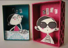 kristel arzur2_ilustraciones en 3d metidas en cajas de carton