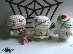 Amigurumi Zombies Halloween crochet pattern in pdf
