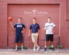 Senior Portraits basketball, golf, tennis