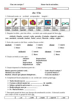 6654510 fise-limba-romana-clasa-i Romanian Language, School Lessons, School Humor, Kids Education, Grade 1, Math Activities, Homeschool, Reading, Children