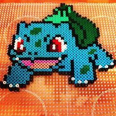 Bulbasaur - Pokemon hama beads by mirims85