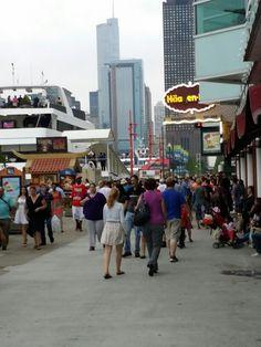 Navy pier Chicago!!