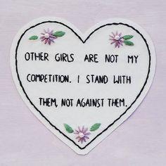 (by @pansypath) #supportgrrrls #supportgirls #endgrrrlhate