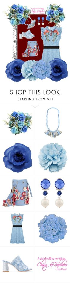 """""""F for flowers"""" by october-cat-studios ❤ liked on Polyvore featuring Chanel, Gucci, Marina Hoermanseder, Miu Miu and Polly Plume"""