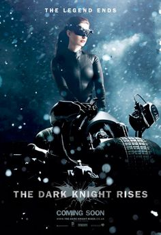 New 'Dark Knight Rises' UK banners! Catwoman