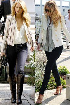 28 times Blake Lively dressed JUST like her Gossip Girl character Serena van der Woodsen in real life.