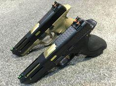 WE Airsoft M&P GBB Pistol Black/DE