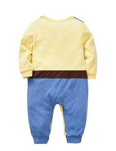 Newborn Unisex Baby Onesies Long Sleeve Footies Romper Cute West Cowboy Outfits Suitable For Spring / Autumn (6-9months, West Cowboy)