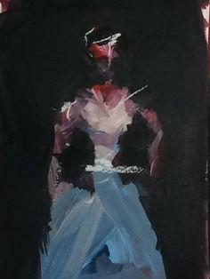 "Saatchi Art Artist Karen Thomas; Painting, ""Roman Holiday"" #art"