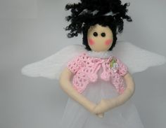 Praying Fairy Doll by ATOLYEVIVIAN on Etsy, $15.00