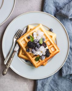 This recipe for healthier Belgium waffles will bring your brunch to the next level! They're delicious, crispy, and make with healthy ingredients!
