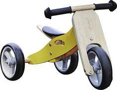 Trikes 18 months Monkey Nicko Mini Wooden Balance Toddler Bikes