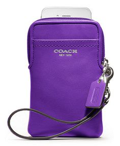 COACH LEGACY LEATHER UNIVERSAL CASE - Tech Cases & Accessories - Handbags & Accessories - Macy's