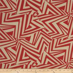 Cotton Lawn Prints Red/Ivory